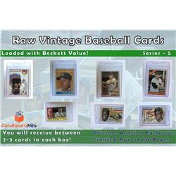Cardboard Hits Presents Vintage Card Mystery Boxes Series 5