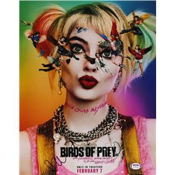 "Margot Robbie Signed ""Birds of Prey"" 11x14 Photo (PSA Hologram)"