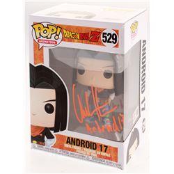 "Chuck Huber Signed ""Dragon Ball Z"" Andriod 17 #529 Funko Pop! Vinyl Figure Inscribed ""Andriod 17"" (T"