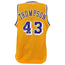 """Mychal Thompson Signed Jersey Inscribed """"Showtime"""" (Beckett COA)"""