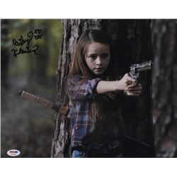 """Cailey Fleming Signed """"The Walking Dead"""" 11x14 Photo (PSA Hologram)"""