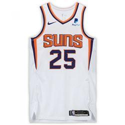 Mikal Bridges Signed Suns Game-Used Jersey (Fanatics Hologram)