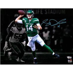 Sam Darnold Signed Jets 11x14 Photo (Fanatics Hologram)