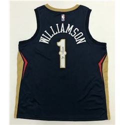 Zion Williamson Signed Pelicans Jersey (Fanatics Hologram)