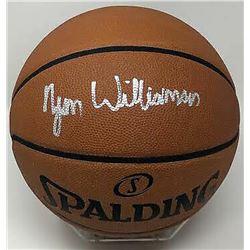 Zion Williamson Signed NBA Game Ball Series Basketball (Fanatics Hologram)