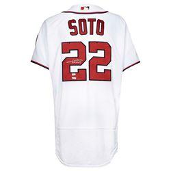 Juan Soto Signed Nationals Jersey (Fanatics Hologram)