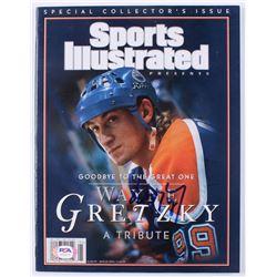 Wayne Gretzky Signed 1999 Sports Illustrated Magazine (PSA Hologram)