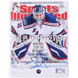 Henrik Lundqvist Signed 2012 Sports Illustrated Magazine (PSA COA)