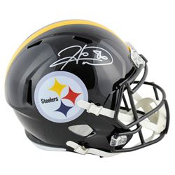 Hines Ward Signed Pittsburgh Steelers Full-Size Speed Helmet (Beckett COA)