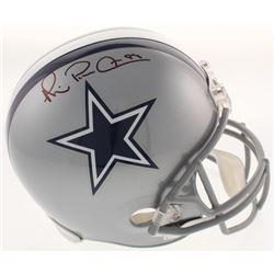 Michael Irvin Signed Cowboys Full-Size Helmet (Beckett COA)