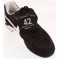 """Mariano Rivera Signed Game-Used Nike Cleat Inscribed """"Game Used 2003"""" (Steiner COA)"""
