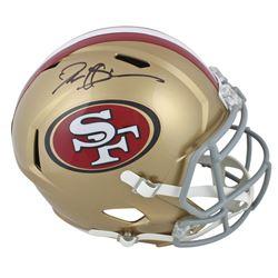 Deion Sanders Signed San Francisco 49ers Full-Size Speed Helmet (Beckett COA)