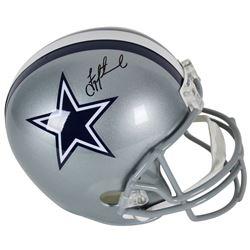 Troy Aikman Signed Cowboys Full-Size Helmet (Beckett COA)