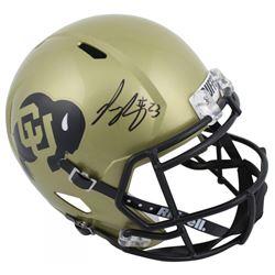 Phillip Lindsay Signed Colorado Buffaloes Full-Size Speed Helmet (JSA COA)