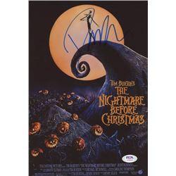 "Danny Elfman Signed ""Nightmare Before Christmas"" 8x12 Photo (PSA COA)"