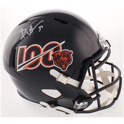 Brian Urlacher Signed Chicago Bears Full-Size Speed Helmet (Beckett COA)