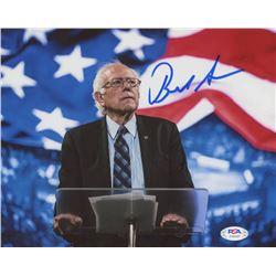 Bernie Sanders Signed 8x10 Photo (PSA COA)