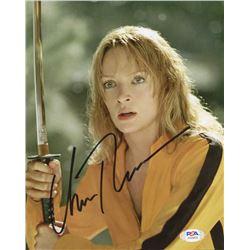 """Uma Thurman Signed """"Kill Bill Vol. 1"""" 8x10 Photo (PSA COA)"""