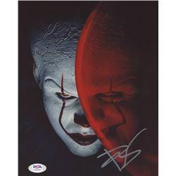 "Bill Skarsgard Signed ""It"" 8x10 Photo (PSA COA)"