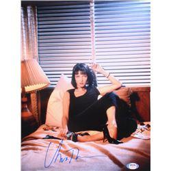 "Uma Thurman Signed ""Pulp Fiction"" 11x14 Photo (PSA COA)"