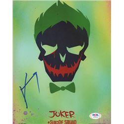 "Jared Leto Signed ""Suicide Squad"" 8x10 Photo (PSA COA)"