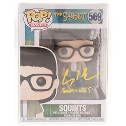 "Chauncey Leopardi Signed ""The Sandlot"" Squints #569 Funko Pop! Vinyl Figure Inscribed ""Squints"" (Bec"
