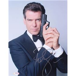 "Pierce Brosnan Signed ""007: James Bond"" 11x14 Photo (PSA COA)"