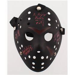 """Friday the 13th"" Mask Signed by (4) with Kane Hodder, Ari Lehman, Ken Kirzinger  Ted White Inscribe"
