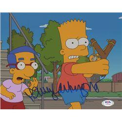 "Nancy Cartwright Signed ""The Simpsons"" 8x10 Photo (PSA COA)"