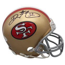 Ricky Watters Signed 49ers Mini Helmet (Beckett COA)