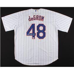 Jacob deGrom Signed Mets Jersey (JSA COA)