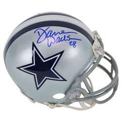 Darren Woodson Signed Cowboys Mini Helmet (Beckett COA)