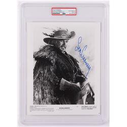 "Sean Connery Signed ""Highlander"" 8x10 Photo (PSA Encapsulated)"