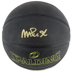 Magic Johnson Signed Street Phantom NBA Basketball (Beckett COA)