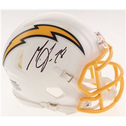 Melvin Gordon Signed Chargers Color Rush Speed Mini Helmet (Beckett COA)