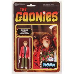 "Jeff Cohen Signed ""The Goonies"" Action Figure (PSA COA)"