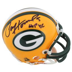 "Paul Hornung Signed Packers Mini Helmet Inscribed ""HOF 86"" (Beckett COA)"