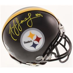 JuJu Smith-Schuster Signed Steelers Mini Helmet (Beckett COA)
