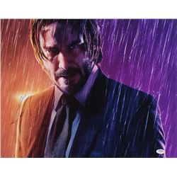 "Keanu Reeves Signed ""John Wick"" 16x20 Photo (PSA Hologram)"