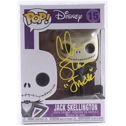 "Chris Sarandon Signed ""The Nightmare Before Christmas"" - Jack Skellington #15 Funko Pop! Vinyl Figur"
