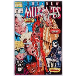 "1991 ""New Mutants"" Volume 1 Issue #98 Marvel Comic Book"