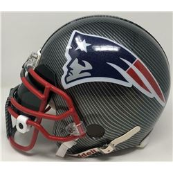 Tom Brady Signed Patriots Custom Hydro Dipped Full-Size Authentic On-Field Helmet (Tristar Hologram)