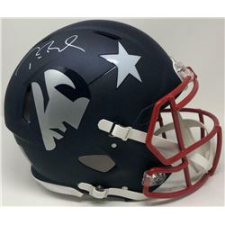 Tom Brady Signed Patriots Full-Size Authentic On-Field AMP Speed Helmet (TriStar Hologram)