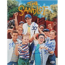 """The Sandlot"" 11x14 Photo Cast-Signed by (6) with Tom Guiry, Marty York, Shane Obedzinski, Victor Di"