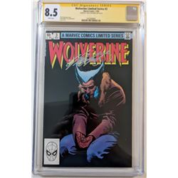 "Chris Claremont Signed 1982 ""Wolverine"" Issue #3 Marvel Comic Book (CGC 8.5)"