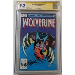 "Chris Claremont Signed 1982 ""Wolverine"" Issue #2 Marvel Comic Book (CGC 9.2)"
