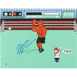 "Mike Tyson Signed ""Punch-Out!!"" 11x14 Photo (Beckett COA)"