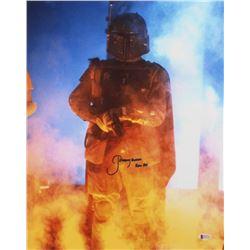 "Jeremy Bulloch Signed ""Star Wars"" 16x20 Photo Inscribed ""Boba Fett"" (Beckett COA)"