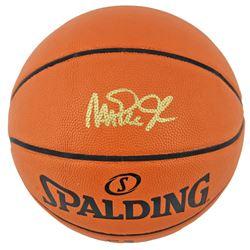 Magic Johnson Signed NBA Game Ball Series Basketball (Beckett COA)