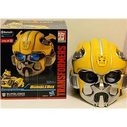 "Megan Fox Signed ""Bumblebee"" Transformers Full-Size Helmet (JSA COA)"